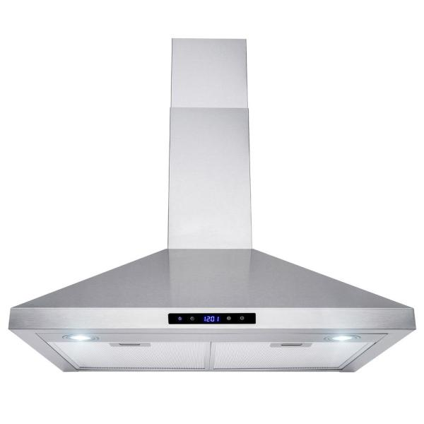 AKDY RH0320 30u0022 Stainless Steel Wall Mount Range Hood Touch Mesh Filter Stove Kitchen Vents