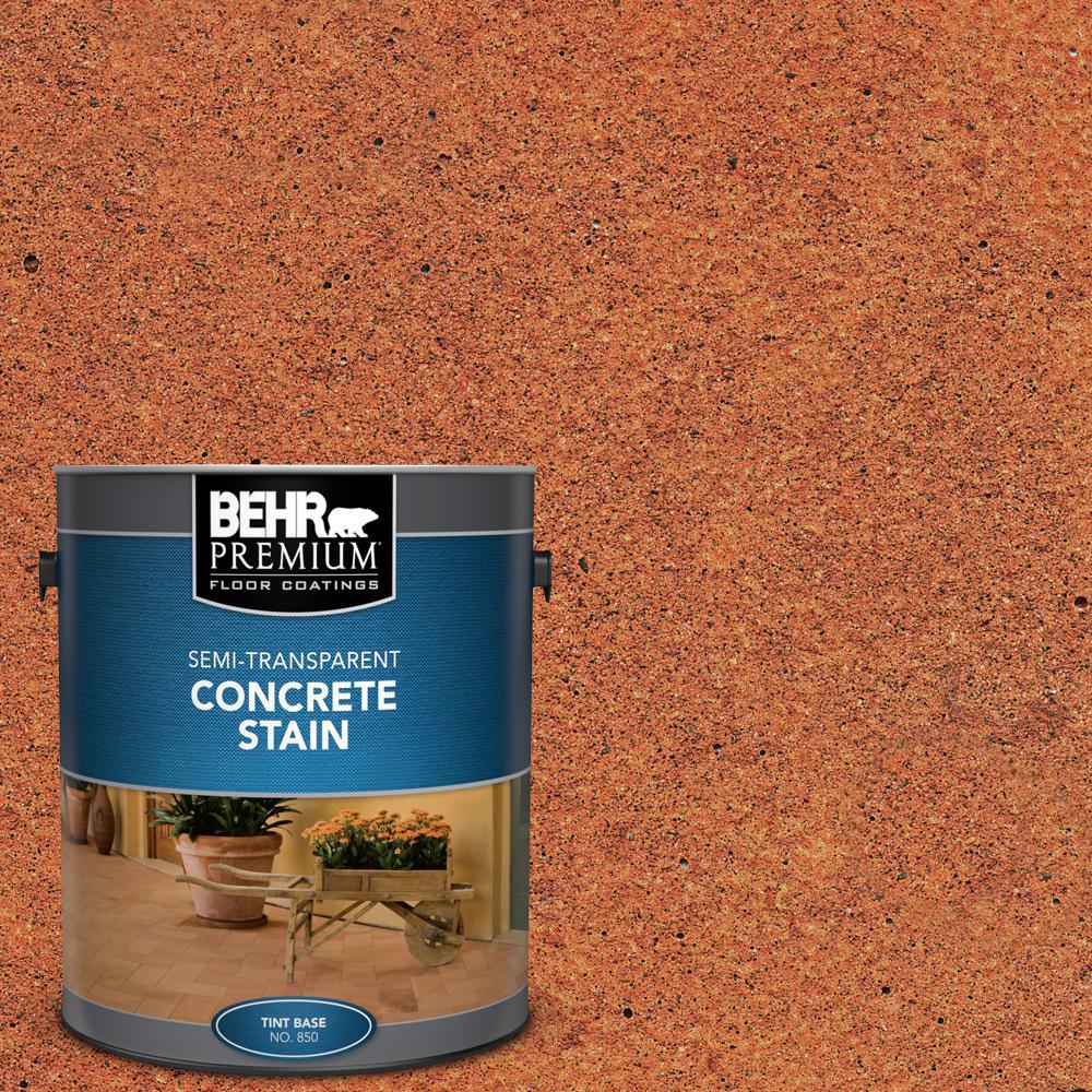 1 gal. #STC-30 Terra Cotta Glaze Semi-Transparent Flat Interior/Exterior Concrete Stain