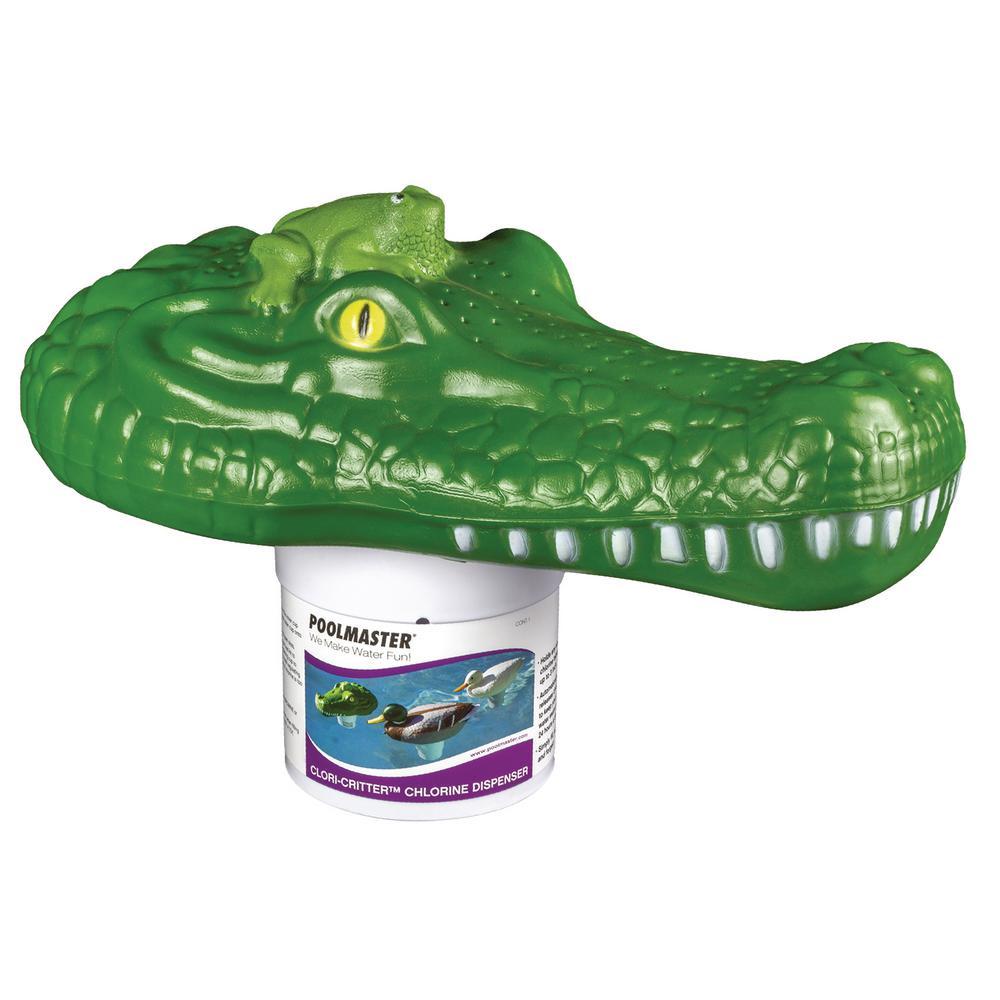 Chlori-Critter Alligator Swimming Pool and Spa Chlorine Dispenser