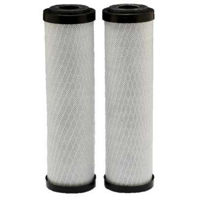 Standard Capacity Carbon Whole Home Water Filters 2 Pack