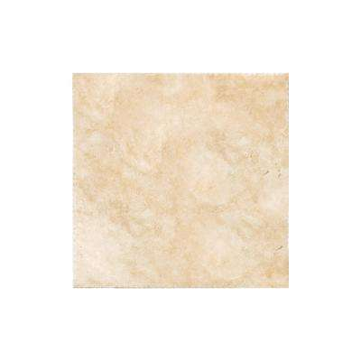 Trav Chiseled Umbria Savera 15.98 in. x 15.98 in. Travertine Floor and Wall Tile (1.78 sq. ft.)