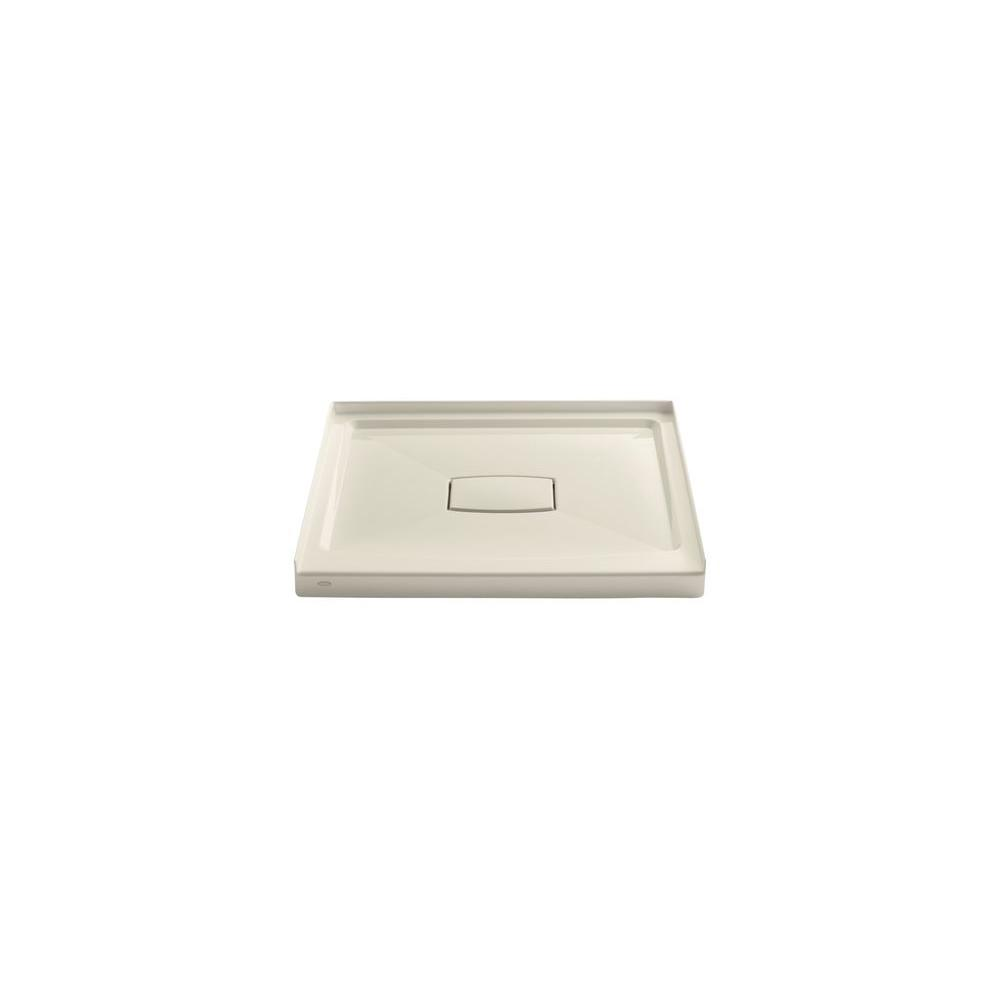 Captivating Single Threshold Shower Base With Removable Cover