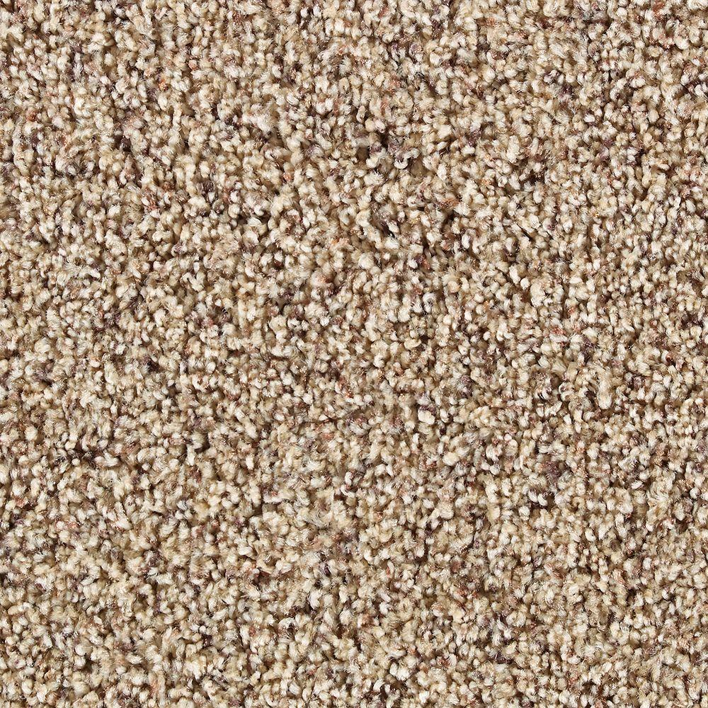 Martha Stewart Living Fontainebleau Brown Alpaca - 6 in. x 9 in. Take Home Carpet Sample-DISCONTINUED