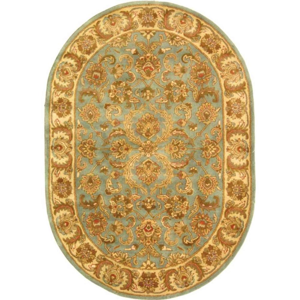 Safavieh Heritage Blue/Beige 7 Ft. 6 In. X 9 Ft. 6 In