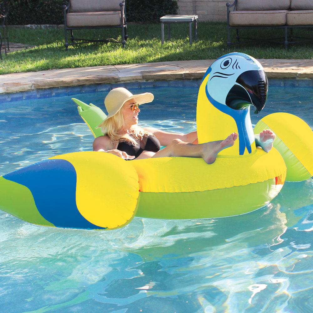 Margaritaville Yellow Pool Parrothead Ml21 The Home Depot