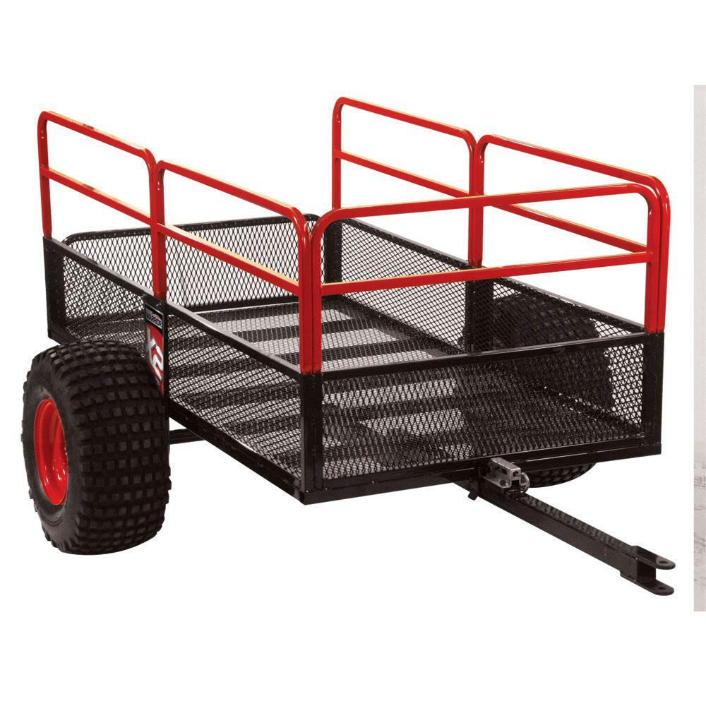 Yutrax X2 Atv Off Road Trailer Tx158 The Home Depot