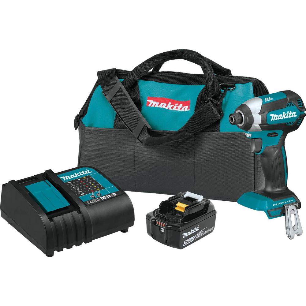 18-Volt LXT Lithium-Ion Brushless Cordless Impact Driver Kit with (1) Battery
