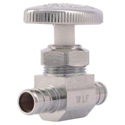 1/2 in. Barb x 1/2 in. Barb Straight Stop Valve