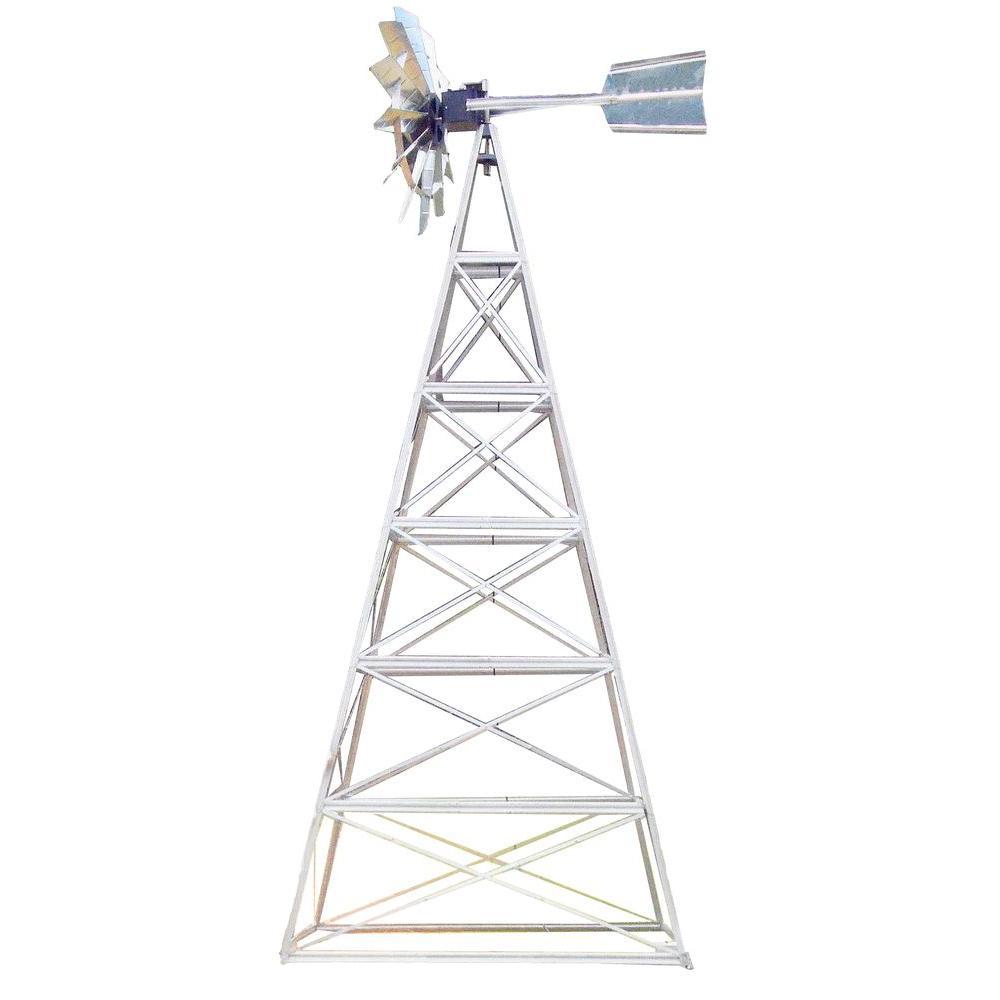 24 ft. 4 Legged Windmill Aeration System