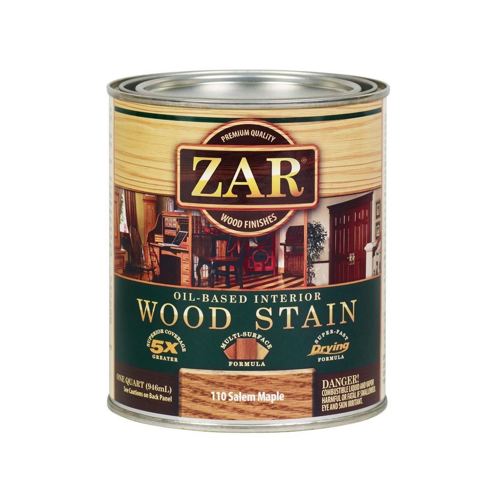 110 1 qt. Salem Maple Wood Stain (2-Pack)