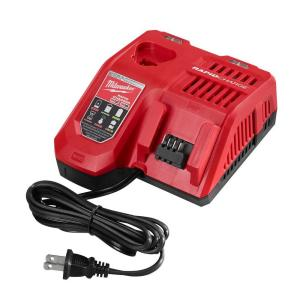 Milwaukee M12 and M18 12-Volt/18-Volt Lithium-Ion Multi-Voltage Rapid Battery Charger by Milwaukee