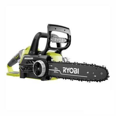 ONE+ 12 in. 18-Volt Brushless Lithium-Ion Electric Cordless Battery Chainsaw (Tool Only)