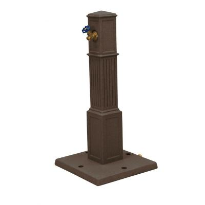 Oasis Garden Hose Tap in Red Brick