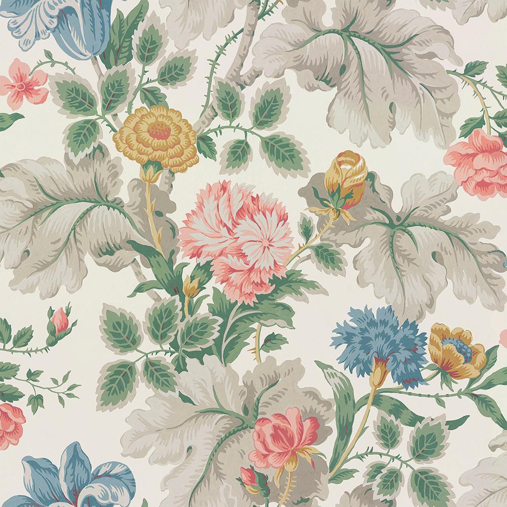 Wall Vision Carnation Garden Multicolor Floral Wallpaper Sample 2827-7235SAM