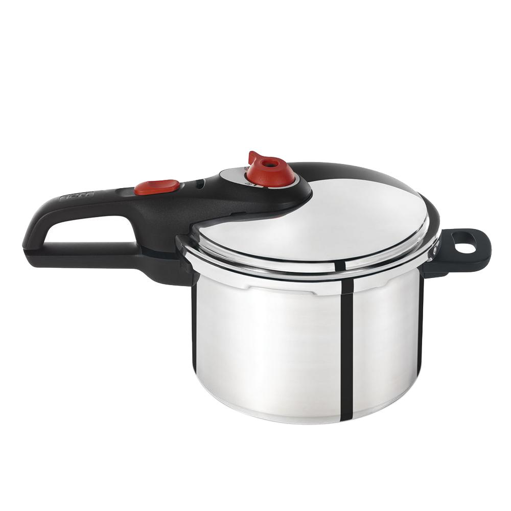 Initiatives 6 Qt. Pressure Cooker in Stainless Steel