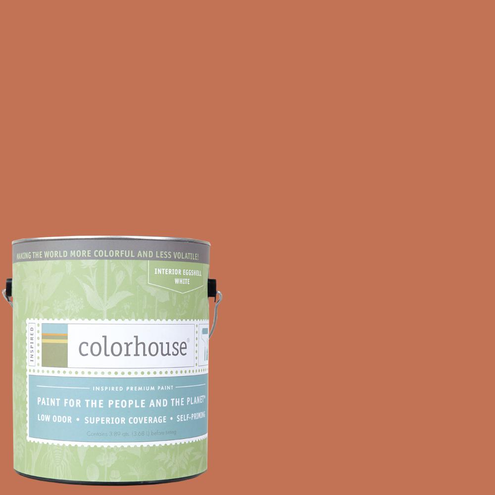 Colorhouse 1 gal. Clay .07 Eggshell Interior Paint-462274 - The Home Depot