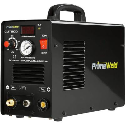 PrimeWeld 50 Amp Plasma Cutter 1/2-inch Clean Cut 110-Volt/220-Volt DC Cutting Machine