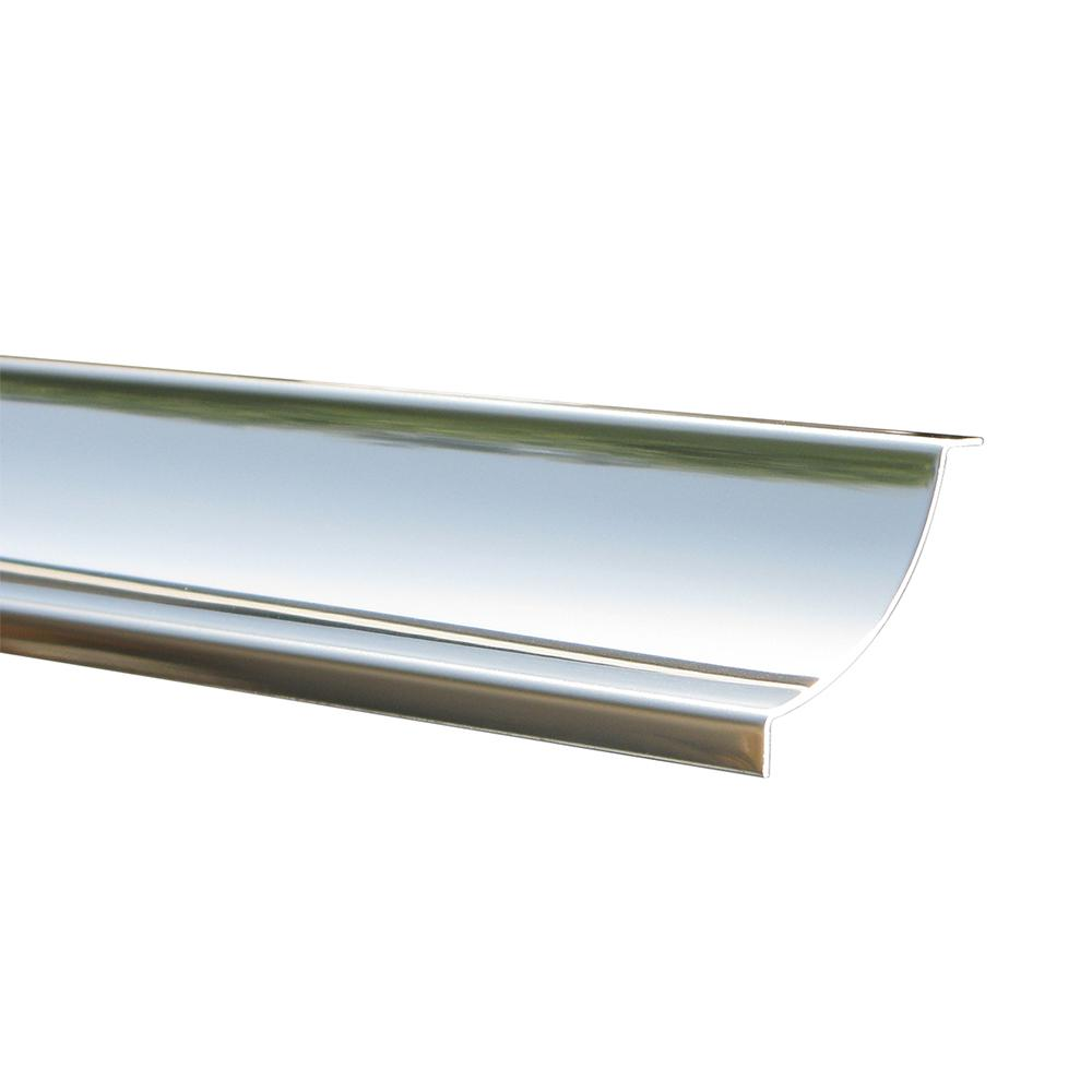 Emac Novoescocia 1 Natural 1-9/16 in. x 98-1/2 in. Stainless Steel Tile Edging Trim