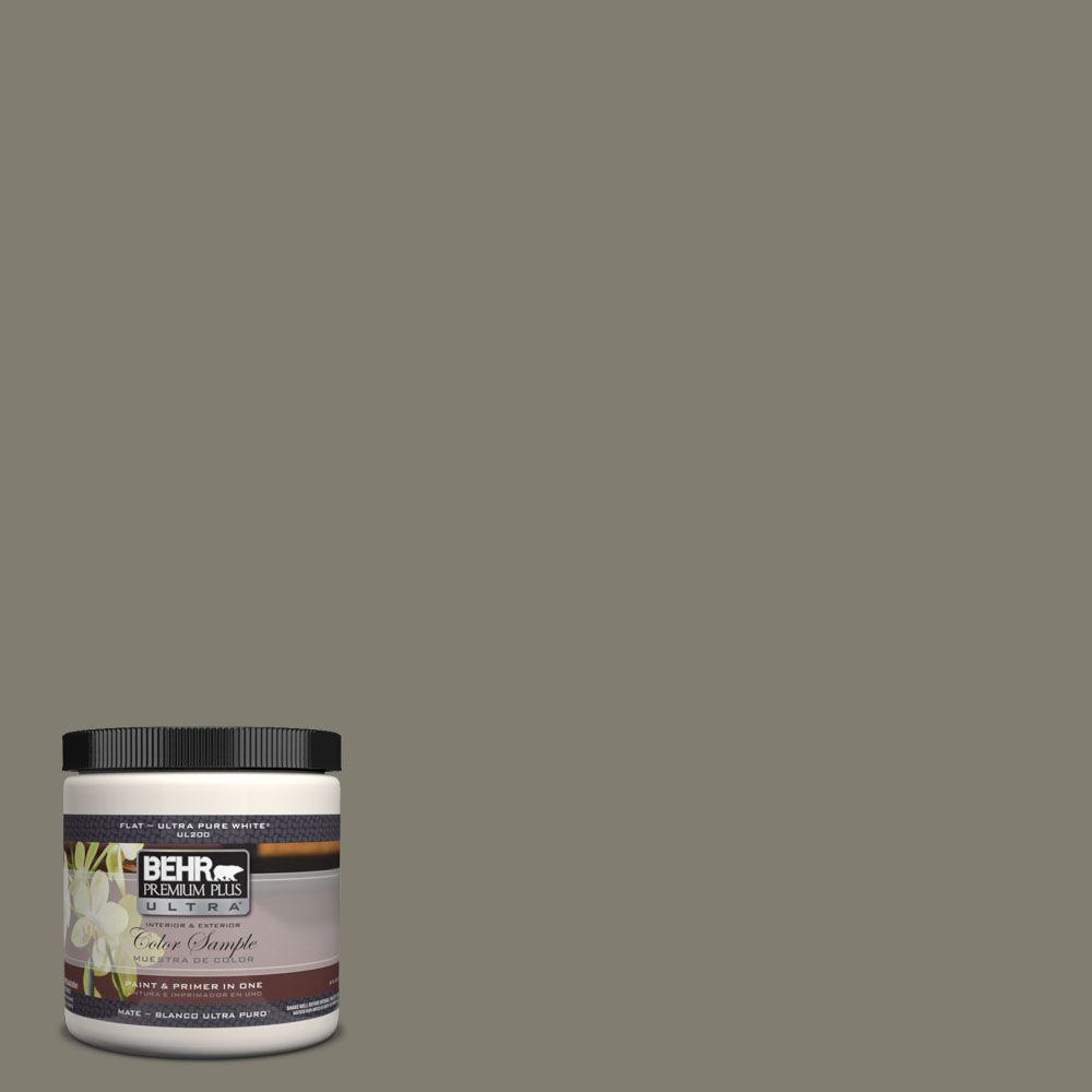 BEHR Premium Plus Ultra 8 oz. #UL200-3 Manuscript Interior/Exterior Paint Sample