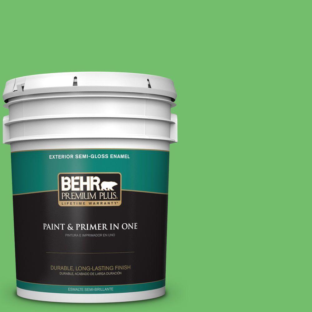 5-gal. #440B-5 Dublin Semi-Gloss Enamel Exterior Paint