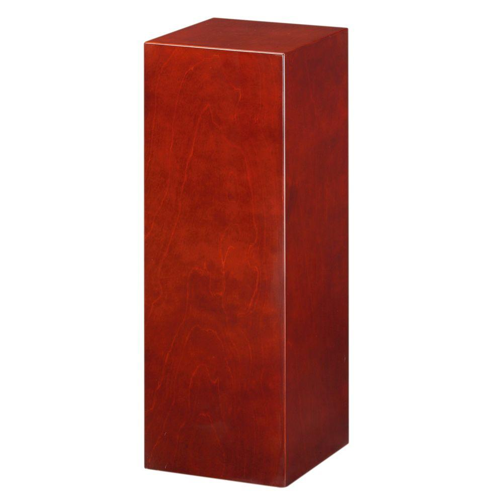 Home Decorators Collection 42 in. H Square Cherry Pedestal