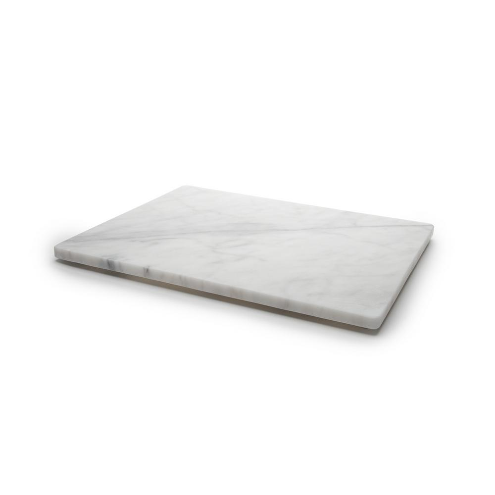 FoxRun Fox Run 16 x 20 Marble Board, White/gray