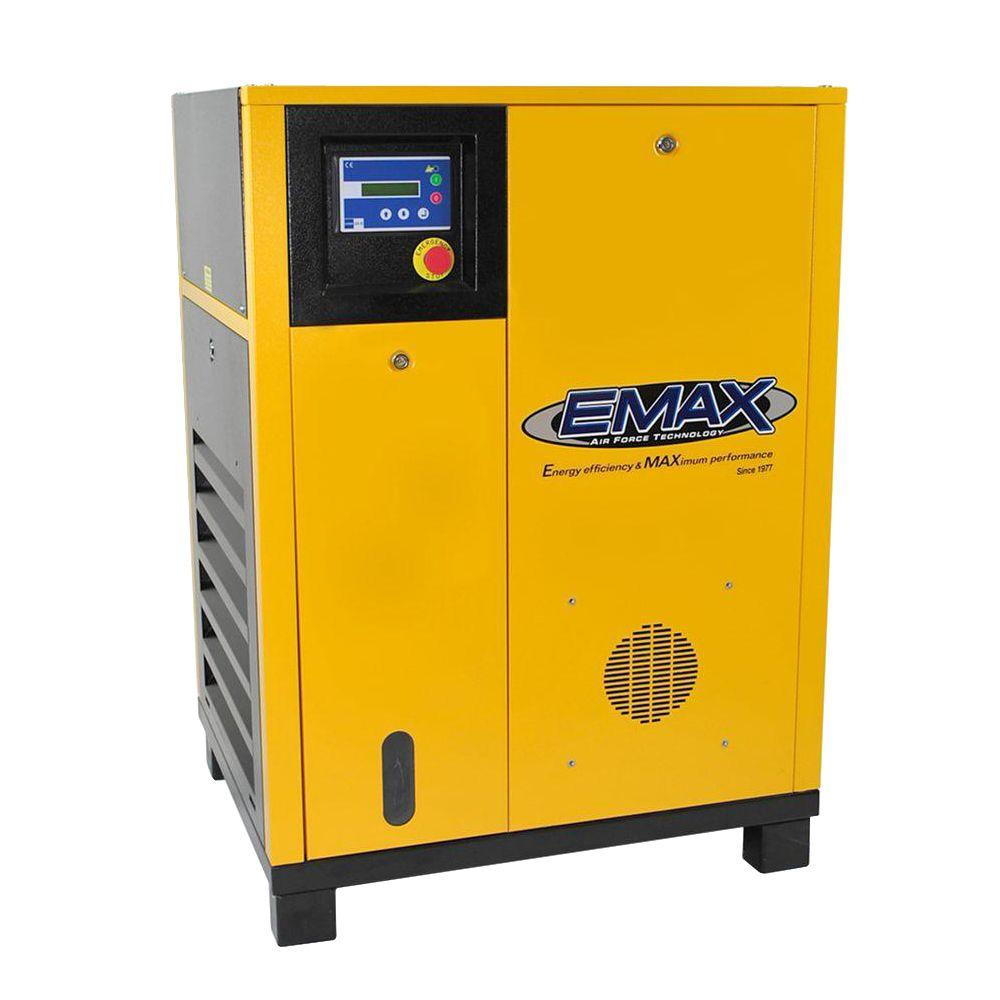 Premium Series 7.5 HP 1-Phase Stationary Electric Rotary Screw Air Compressor