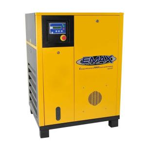EMAX Premium Series 7.5 HP 1-Phase Stationary Electric Rotary Screw Air Compressor by EMAX