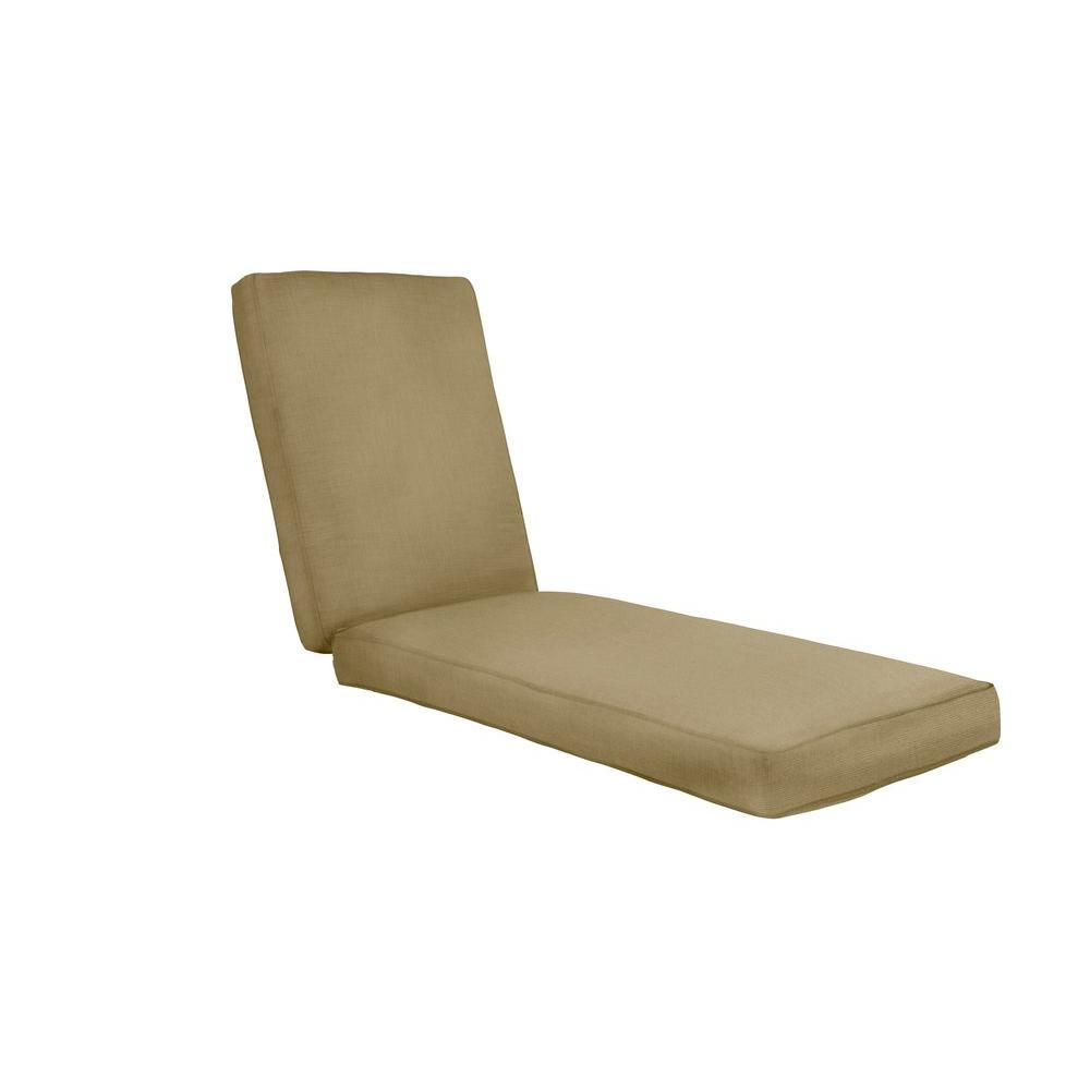 Marquis Replacement Outdoor Chaise Cushion in Meadow