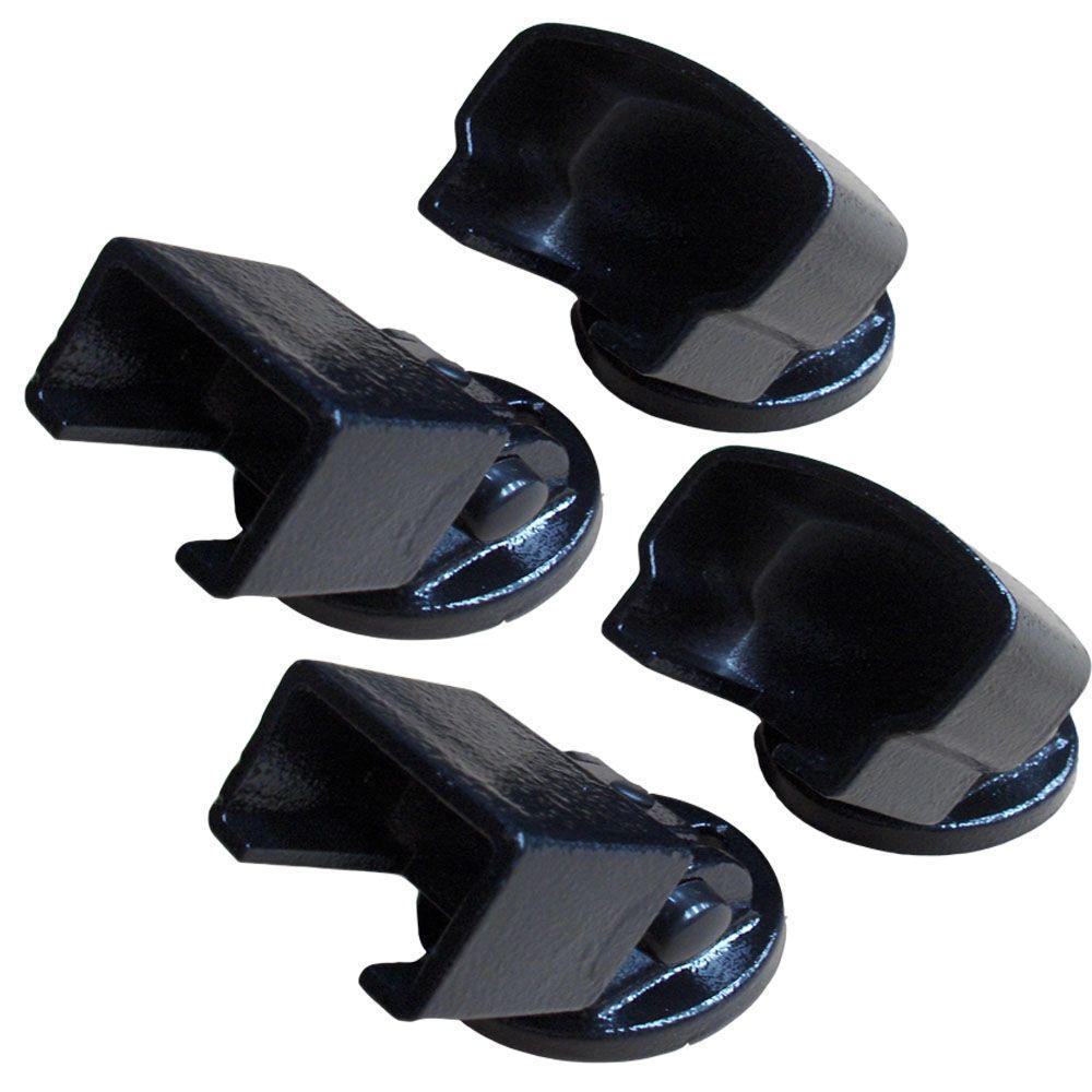 Textured Black Aluminum EZ Pivot Mount Kit