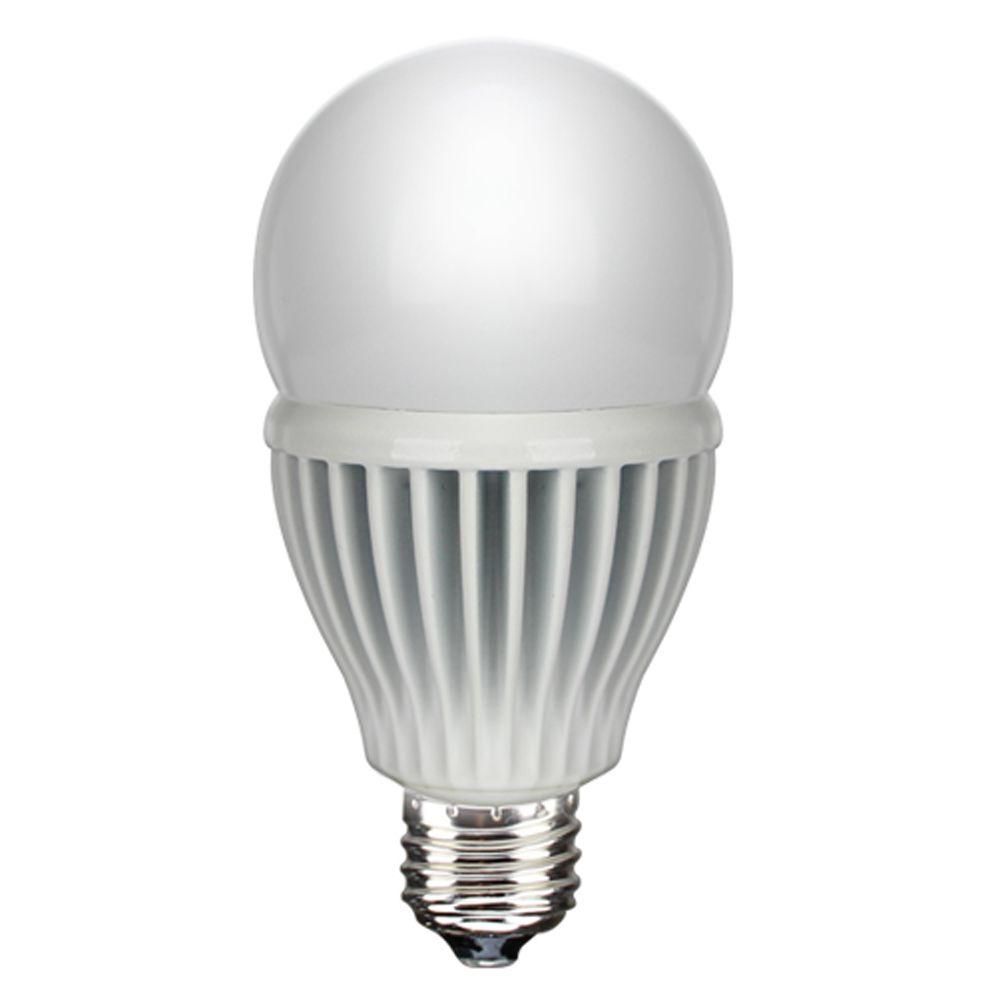 Euri Lighting 60W Equivalent Warm White A19 Non-Dimmable LED Light Bulb