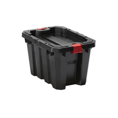 5 Gal. Latch and Stack Tote in Black