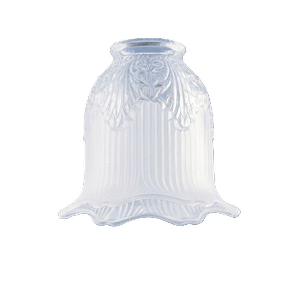 Westinghouse 4-3/4 in. x 5 in. Clear and Frosted Bell