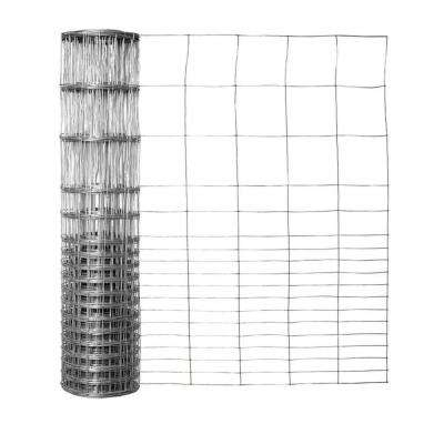 24 in. x 50 ft. Galvanized Steel Rabbit Fence (2-Pack)