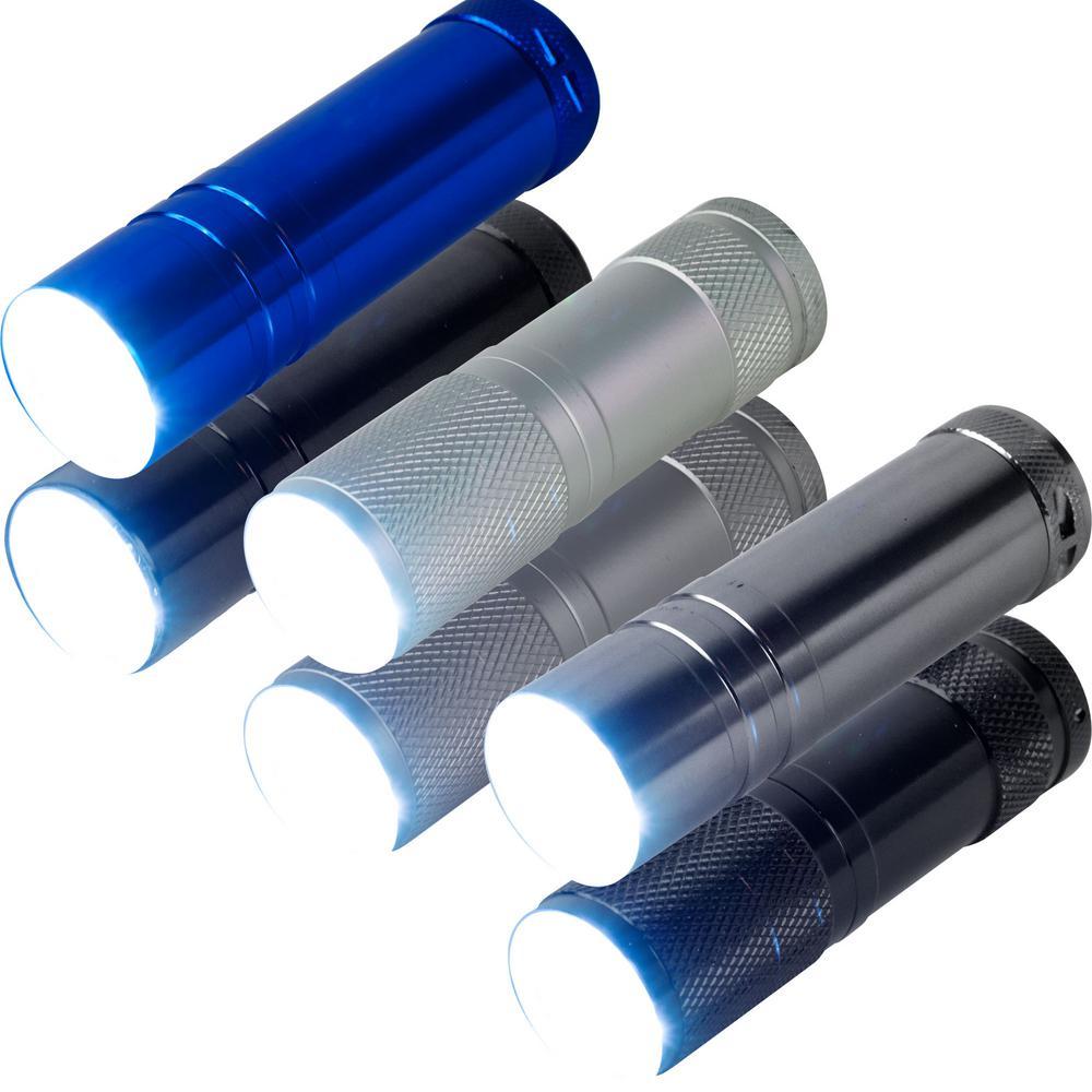 LED Flashlight 6-Pack
