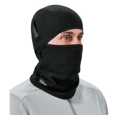 N-Ferno Black 2-Piece Fleece Balaclava