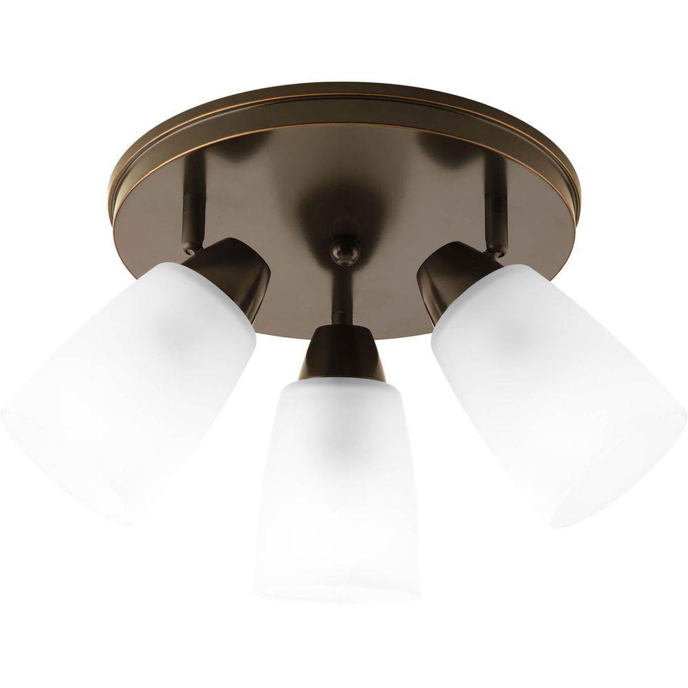 Wisten Collection 3-Light Antique Bronze Spotlight Fixture