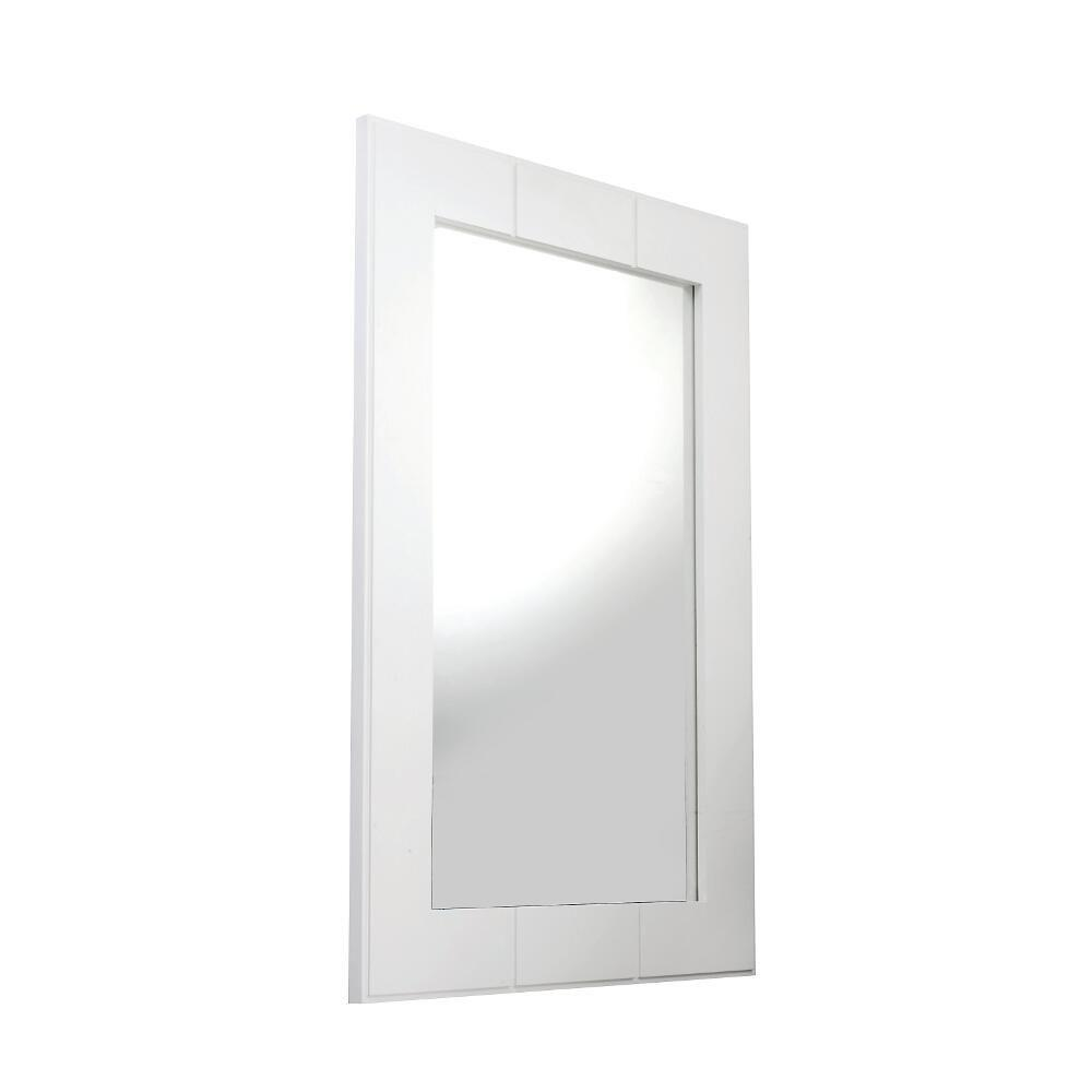 Croydex Maine 24 in. H x 16 in. W Single Mirror in White