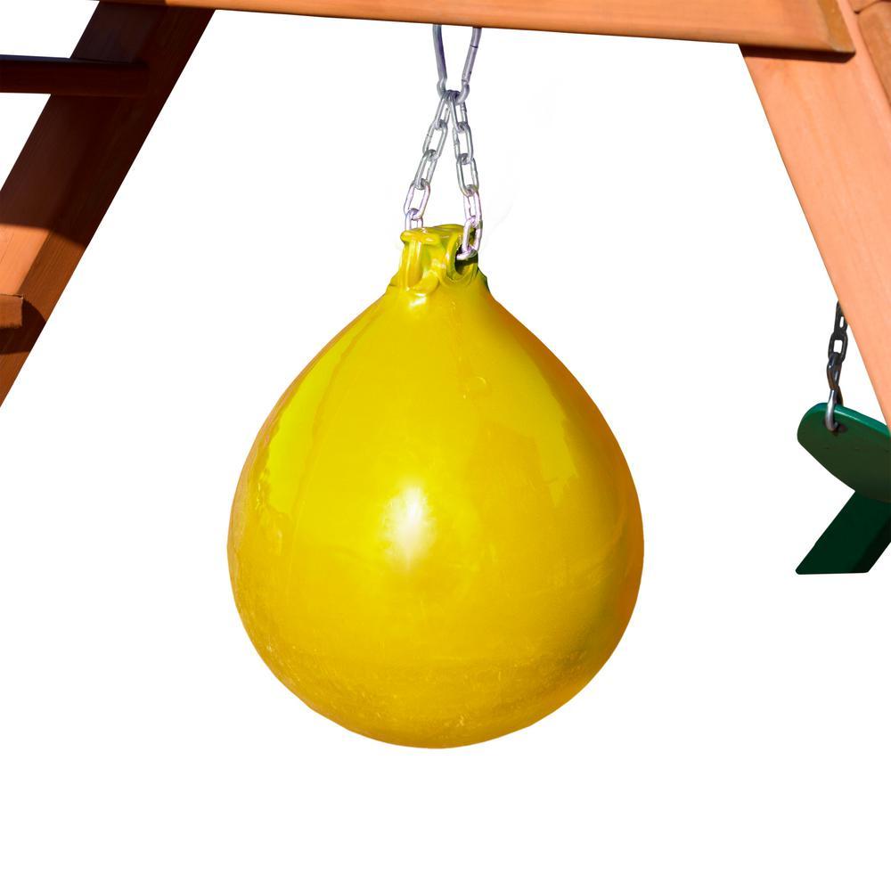 Yellow Punching Ball