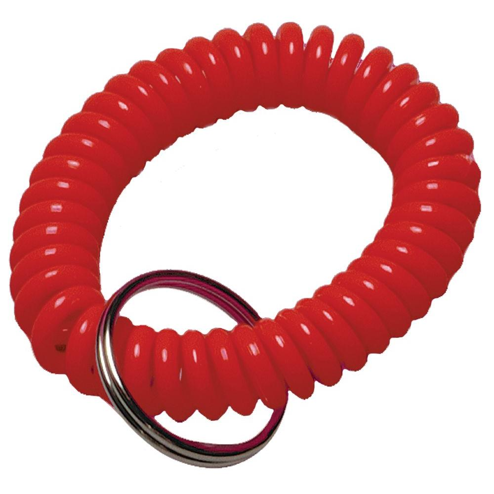 Assorted Split Ring Coiled Key Ring