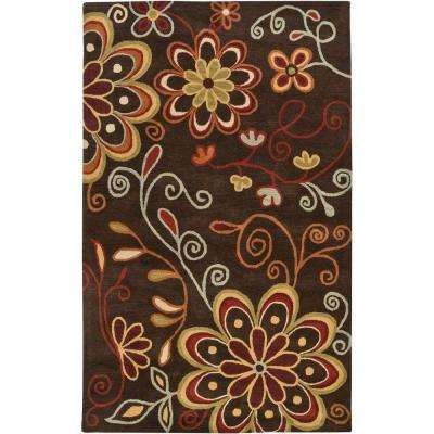 Sarah Brown 10 ft. x 14 ft. Area Rug
