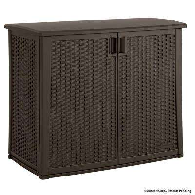 42.25 in. x 23 in. Outdoor Patio Cabinet