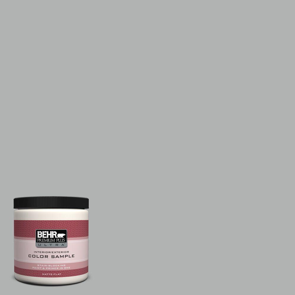 BEHR Premium Plus Ultra 8 oz. #780F-4 Sparrow Interior/Exterior Paint Sample