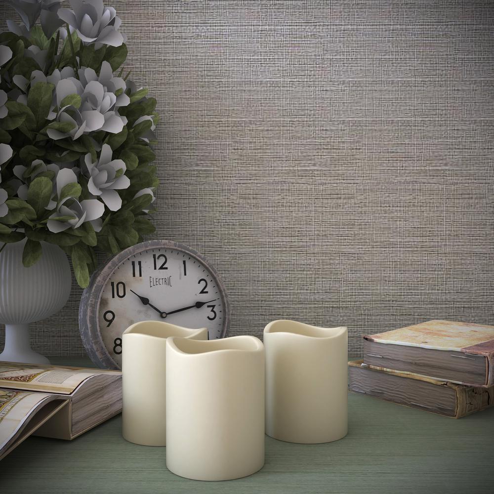 Lavish Home 8-Piece LED Flameless Votive Wax Style Candle Set W020028