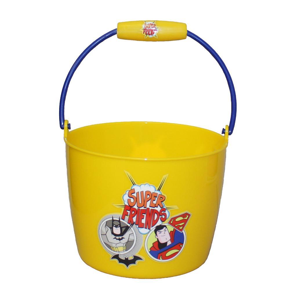 0.4 Gal. Super Friends Plastic Bucket