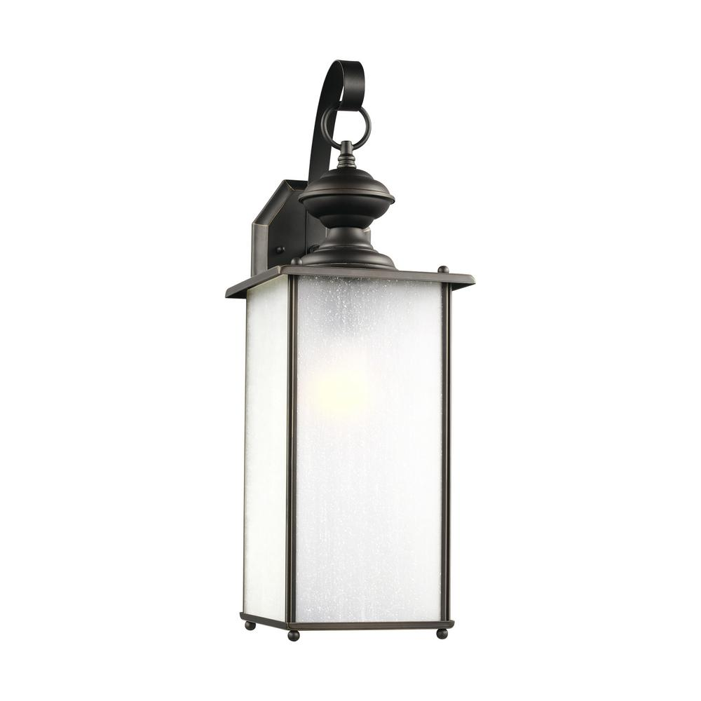 Jamestowne Outdoor Wall Light: Progress Lighting Conover Collection 1-Light Antique