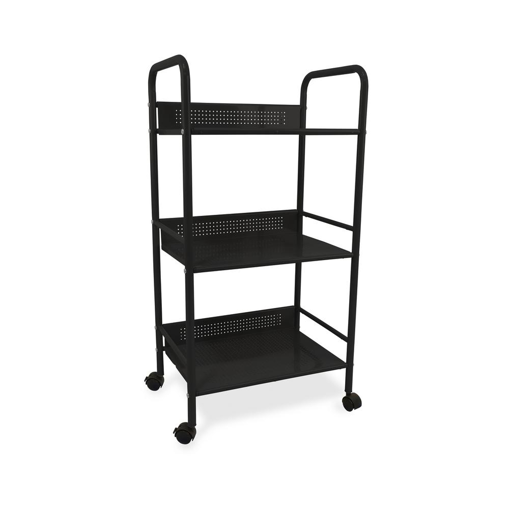 Urb E 3 Tier Rolling Utility Cart