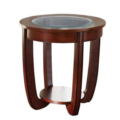 London Cherry End Table