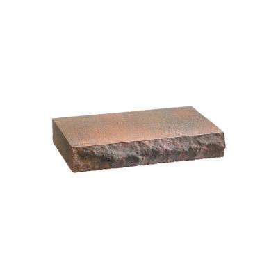 2 in. x 12 in. x 8 in. Autumn Blend Concrete Retaining Wall Cap