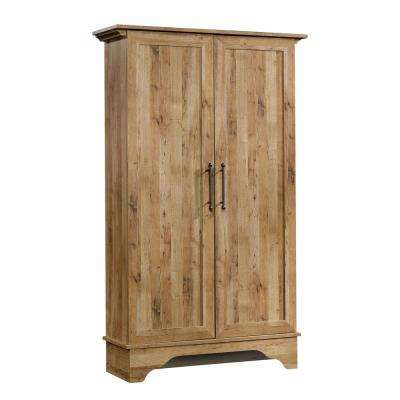 Viabella Collection Antigua Chestnut Storage Cabinet